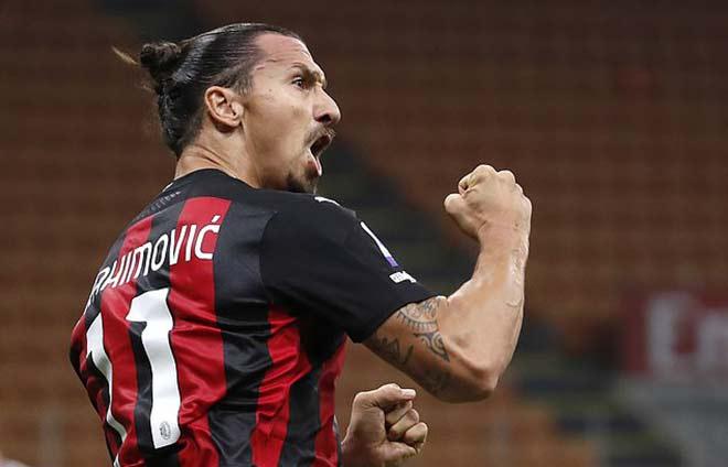 Ibrahimovic bùng nổ derby Milan, công khai muốn lật đổ Ronaldo đoạt Serie A - 1