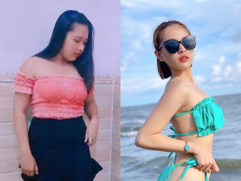 Thiếu nữ Phú Yên, Bình Định... sau giảm cân ngàn người theo đuổi - 1
