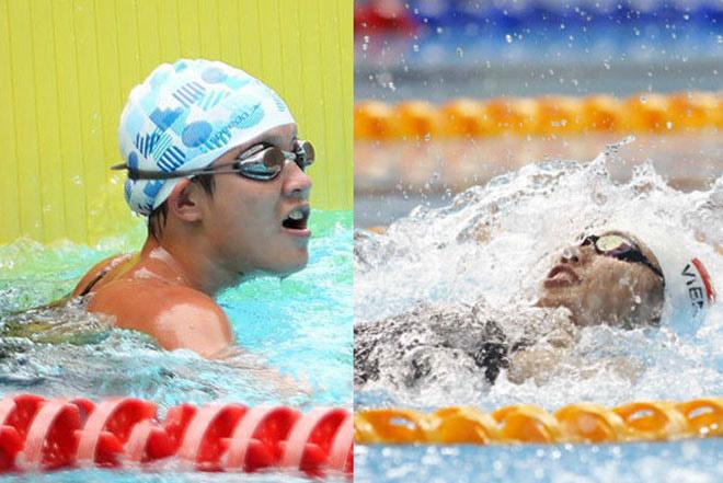 Ánh Viên thất thế trước Mỹ Thảo ở 100m bơi bướm, vẫn giành 8 HCV - 1