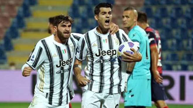Video highlight trận Crotone - Juventus: Morata lập công, tiếc nuối cú đúp hụt - 1