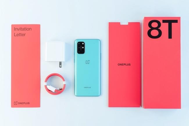 OnePlus 8T 5G được trang bị vi xử lý QualcommSnapdragon865 với modem X55 5G và dung lượng RAM lên đến 12GB.