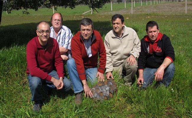 Năm 1980, Faustino Asensio Lopez và cha tìm thấy khối đá nặng 100kg tại cánh đồng ở Tây Ban Nha.