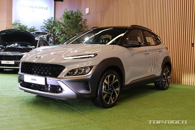 Ảnh thực tế Hyundai Kona 2021, đợi ngày về Việt Nam đấu KIA Seltos - 1