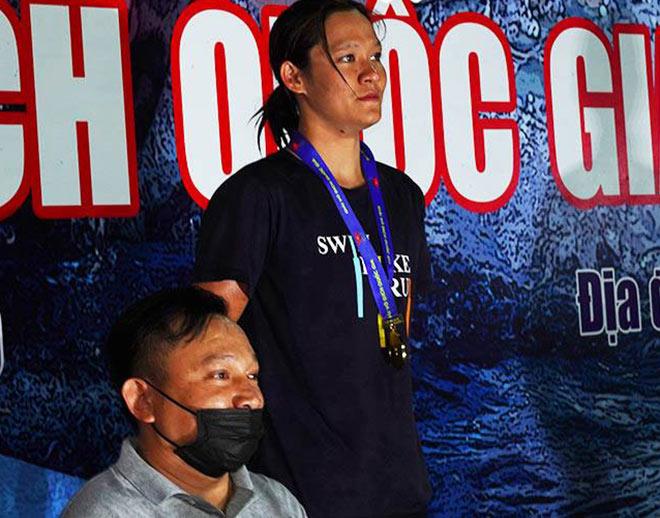 Ánh Viên lần thứ 2 liên tiếp thua Mỹ Thảo ở giải bơi quốc gia - 1