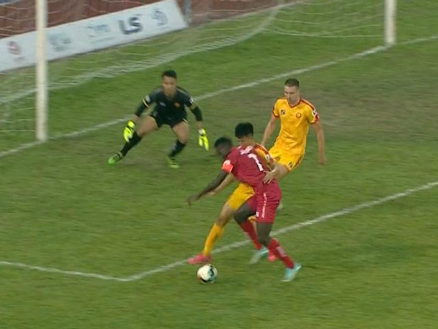 Trực tiếp bóng đá Hải Phòng - Thanh Hóa: Mpande suýt có hat-trick (Hết giờ)