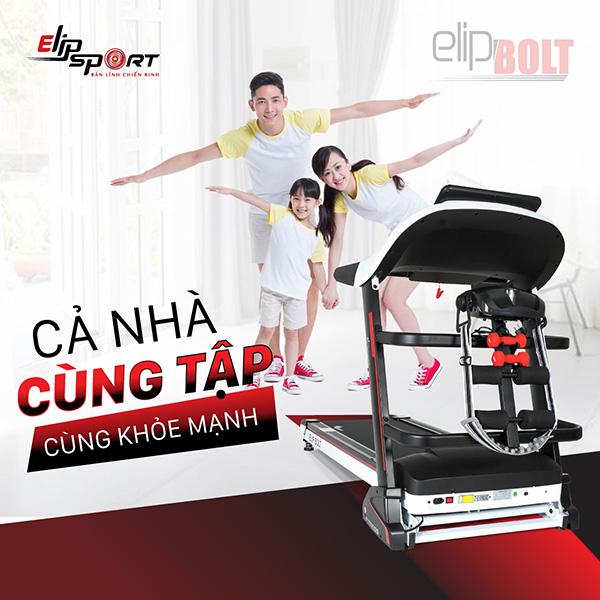 Máy chạy bộ Elipsport mang đến sức khỏe như chiến binh - 1