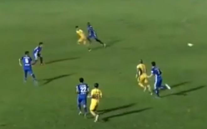 Video highlight trận Quảng Nam - Nam Định:2 thẻ đỏ ngỡ ngàng, gay cấn đua trụ hạng - 1