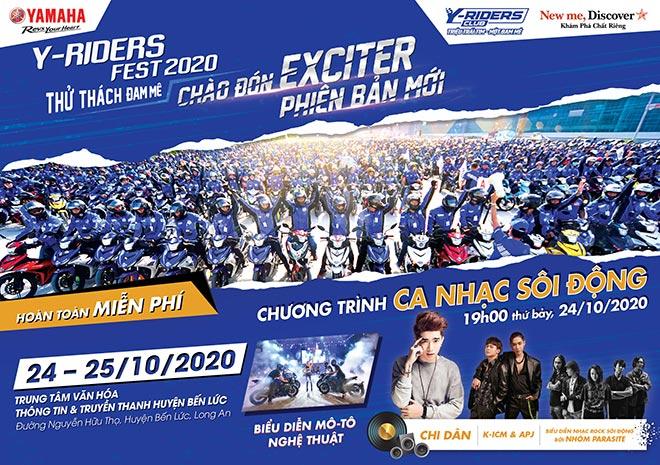 Y-Riders Fest - Sự kiện lớn nhất trong năm dành cho các tín đồ yêu tốc độ của Yamaha - 1