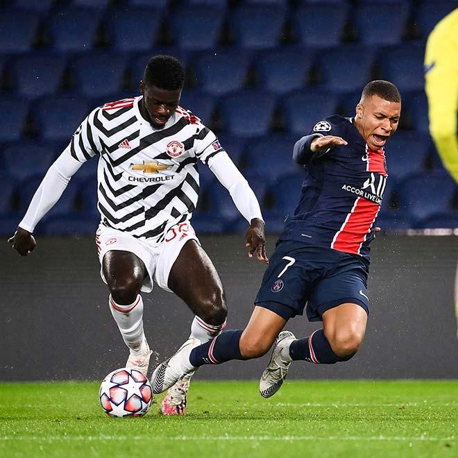 """Mbappe - Neymar bị Tuanzebe """"bỏ túi"""", huyền thoại MU cực lực ca ngợi - 1"""
