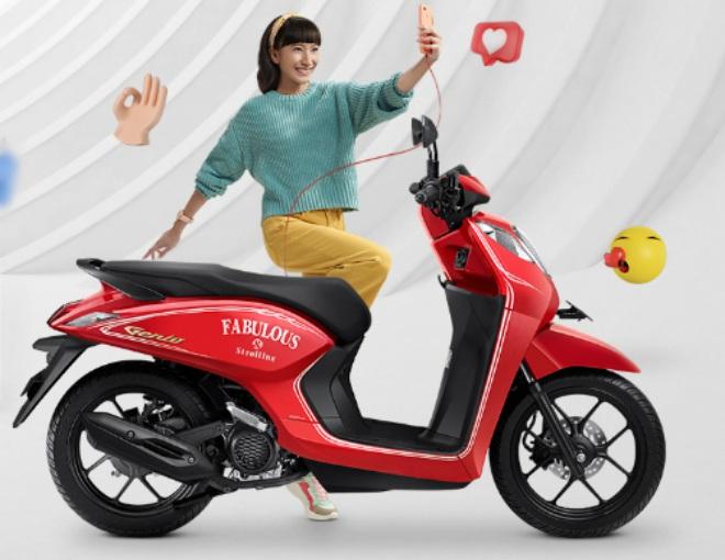 Xe ga mới 2021 Honda Genio ra mắt, giá 26,88 triệu đồng - 1