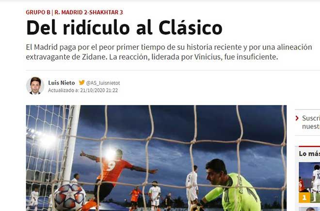 """Real Madrid thua chấn động: Báo TBN chê """"hiệp 1 tệ nhất trong lịch sử"""" - 2"""