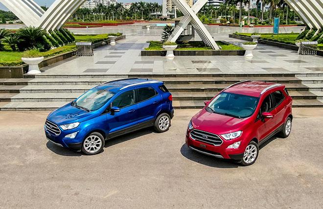 Ford EcoSport 2020 vừa ra mắt đã giảm giá gần 100 triệu đồng - 1