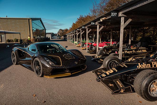Siêu xe điện Lotus Evija lộ diện tại lễ hội tốc độ Goodwood - 1