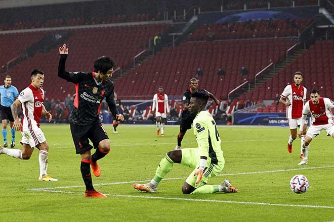 Kết quả bóng đá Cúp C1 Ajax - Liverpool: Ông lớn mướt mồ hôi, bước ngoặt bàn đá phản - 3