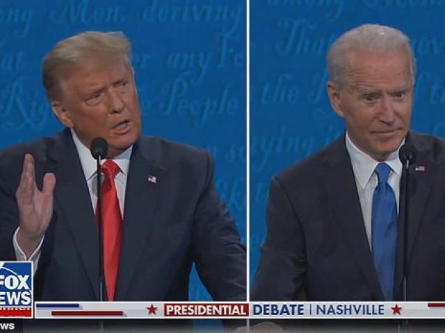 Tranh luận tổng thống Mỹ: Ông Biden là người ngắt lời, khai mào đấu khẩu trước