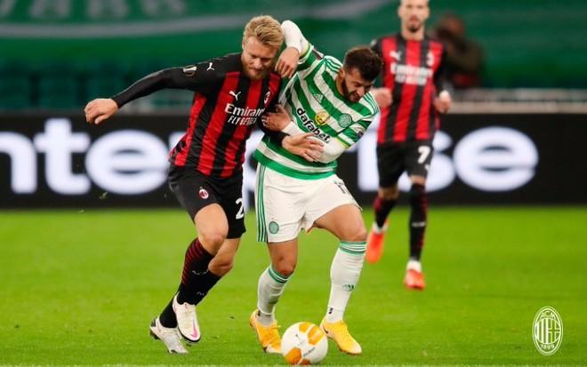 Kết quả bóng đá Europa League Celtic - AC Milan: Đại tiệc 4 bàn, tưng bừng bắn phá - 1