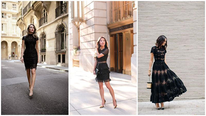 Những kiểu dáng váy đen hoàn hảo cho mọi sự kiện - 6