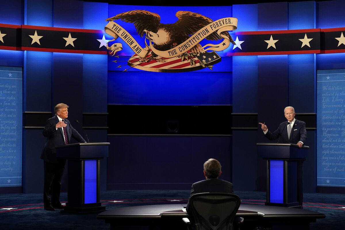 Điều duy nhất ông Trump và ông Biden nhất trí trong lần đối đầu cuối - 1