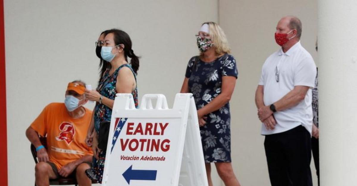 Người Mỹ đi bỏ phiếu sớm cao kỷ lục, Dân chủ đang thắng thế