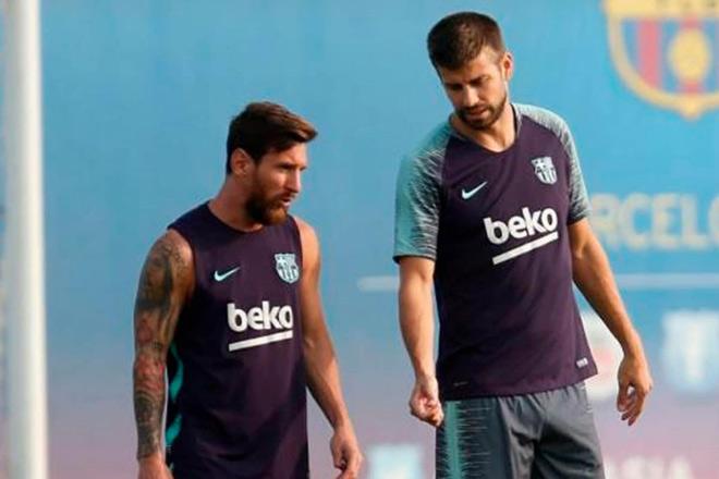 Barca loạn trước siêu kinh điển: Pique bất mãn đòi đặt tên Messi cho sân vận động mới - 2