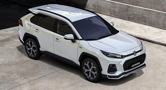 Suzuki Across có giá bán hơn 1,3 tỷ đồng tại châu Âu - 1