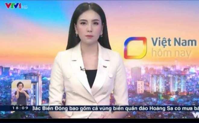 MC Mai Ngọc gặp sự cố vã mồ hôi khi lên sóng trực tiếp bản tin 50 phút - 1