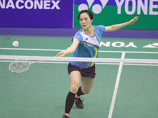 Tiến Minh vào chung kết, Vũ Thị Trang thua sốc đàn em kém 564 bậc - 1