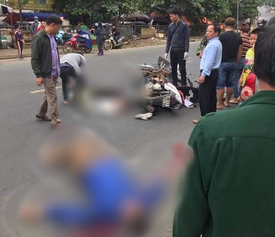 Clip: Nam thanh niên phóng xe vun vút tông chết người đàn ông đi xe máy - 1