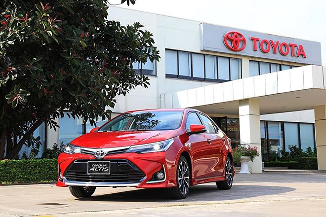 Giá xe Toyota Corolla Altis lăn bánh tháng 10/2020 - 1