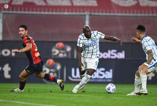 Video highlight trận Genoa - Inter Milan: Hiệp 2 bùng nổ, Lukaku rực sáng - 1