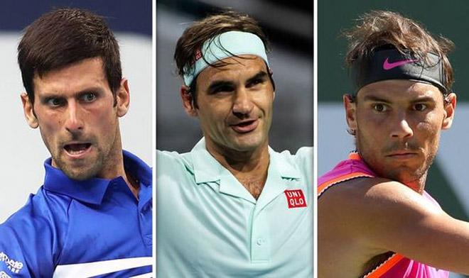 Đây là lý do để Federer, Nadal và Djokovic độc bá tennis 15 năm qua - 1