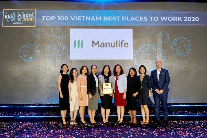 Manulife giữ vững ngôi vị quán quân nơi làm việc tốt nhất ngành bảo hiểm tại VN - 1