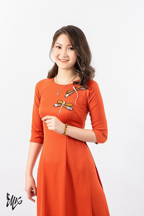 Áo dài Minh Khang - Bộ sưu tập áo dài thu mong đợi 2020 - 1