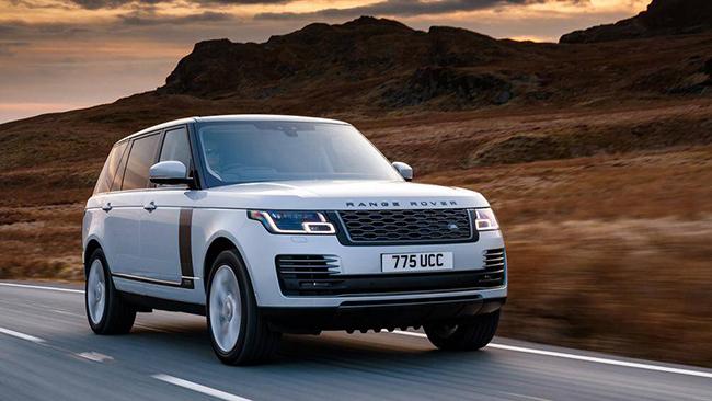10. Land Rover Range Rover