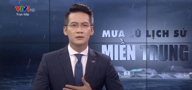 BTV của VTV nén khóc trên sóng trực tiếp khi dẫn bản tin bão lũ miền Trung gây xúc động - 1