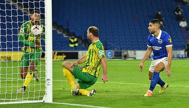 Video highlight trận Brighton - West Brom: Bàn đá phản gây cười, bước ngoặt phút 83 - 1