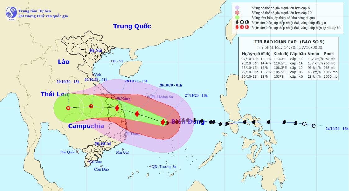 Nếu bão số 9 vào đất liền giữ nguyên cường độ, nhà cấp 4 có thể bị phá hủy hàng loạt - 1