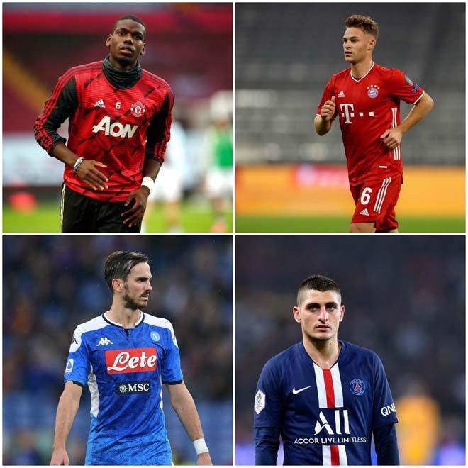 Pogba lọt top 4 tiền vệ tốt nhất châu Âu, MU đang lãng phí siêu sao? - 1