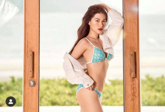 Set đồ bơi được bán nguyên set hoặc bán lẻ theo nhu cầu khách hàng, tổng tiền của mẫu đồ bơi có giá 20 triệu đồng.