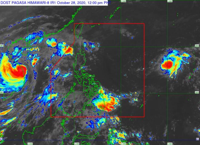 Áp thấp nhiệt đới mới sắp mạnh lên thành bão gần Philippines - 1