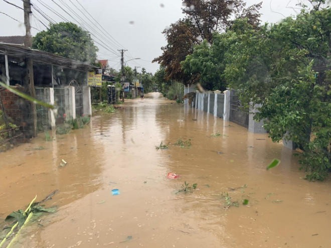 Quảng Ngãi di dời khẩn cấp 12.000 người dân tránh lũ - 1