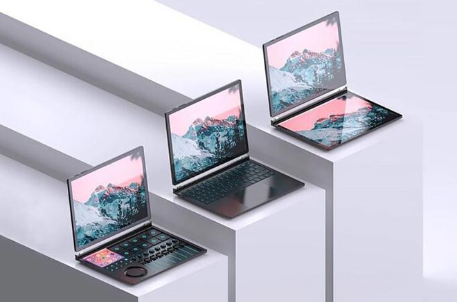 Độc đáo ý tưởng máy tính lai máy tính bảng mới của Lenovo - 1