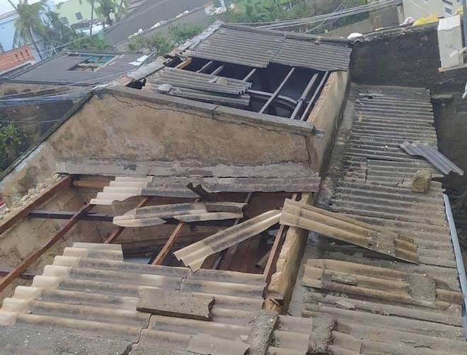 Quảng Ngãi: Cảnh tan hoang ở huyện đảo Lý Sơn sau khi bão số 9 càn quét - 5