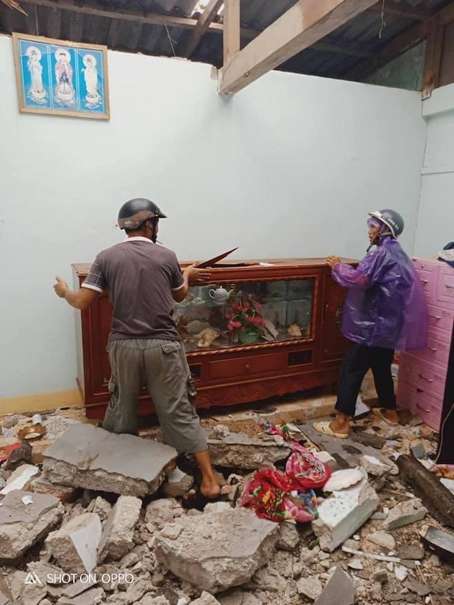 Quảng Ngãi: Cảnh tan hoang ở huyện đảo Lý Sơn sau khi bão số 9 càn quét - 9