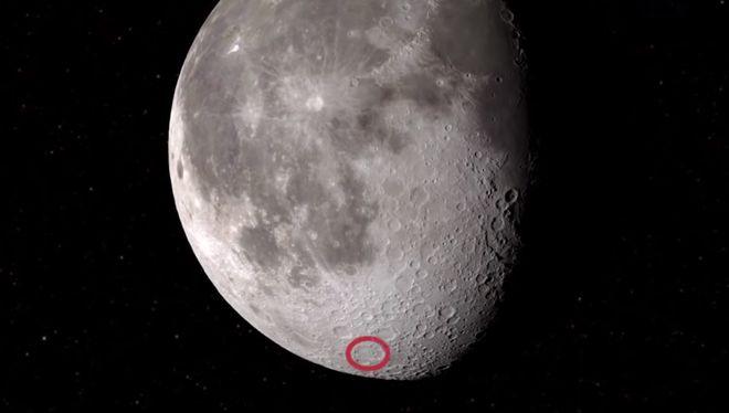 Nóng: NASA phát hiện thấy nước trên Mặt Trăng - 1