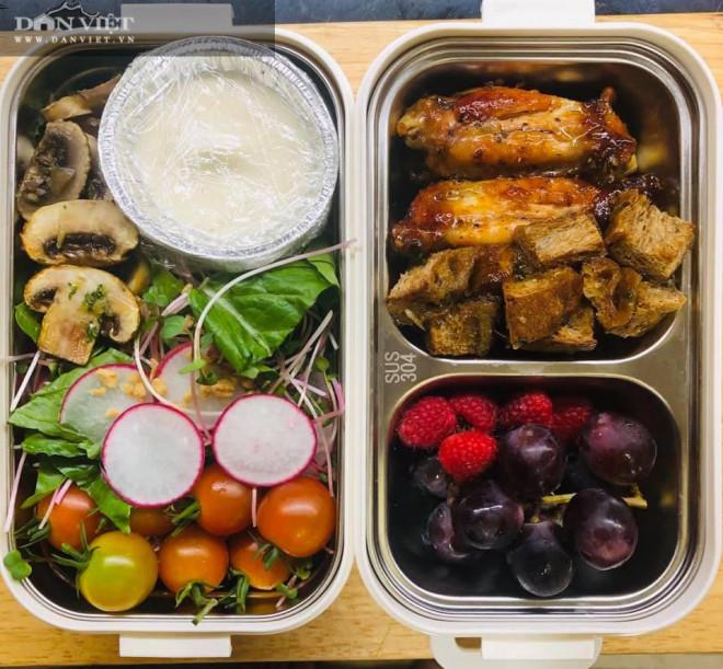 Gợi ý thực đơn cơm hộp mang đi làm đơn giản tiện lợi thích hợp cho người đang giảm cân - 3