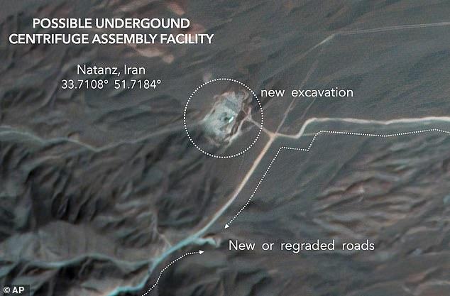 Hành động lạ của cơ sở hạt nhân Iran trước ngày bầu cử Mỹ - 1