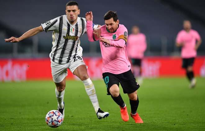 Kết quả bóng đá Cúp C1, Juventus - Barcelona: May mắn song hành, Messi chốt hạ - 1