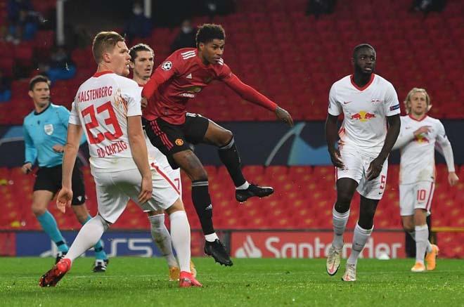MU đại thắng Leizpig Cúp C1: Báo Anh nức nở khen Rashford như Van Nistelrooy - 1