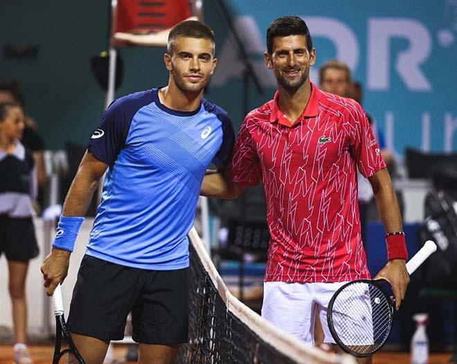Video tennis Djokovic - Coric: Kinh hoàng tie-break, 2 set phân định - 1